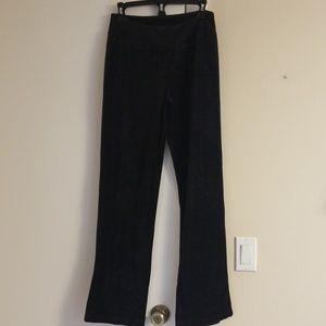 Denim &Company Velour Pants